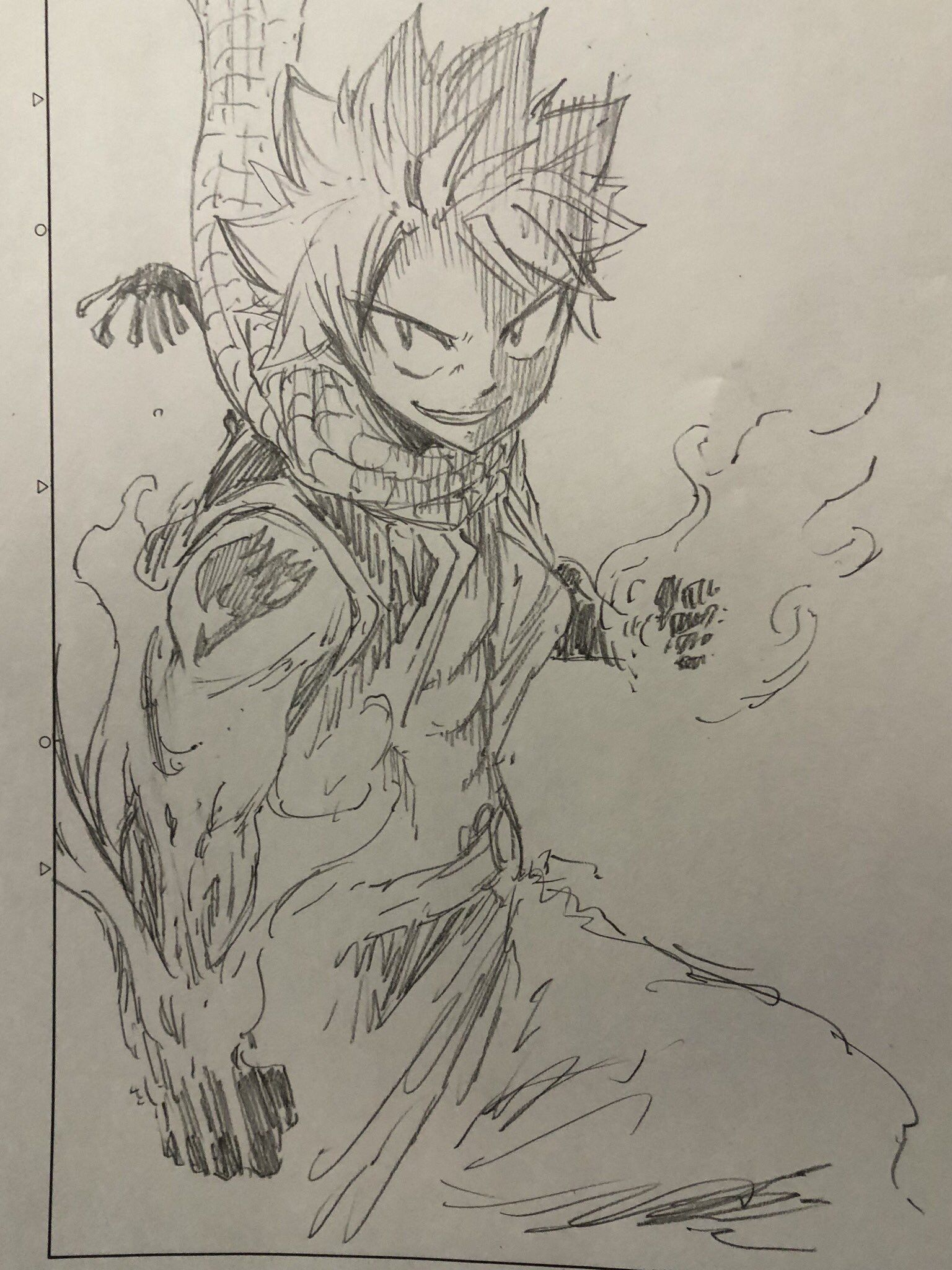 Natsu Dragneel Fairy Tail Drawing Natsu Fairy Tail Fairy Tail Manga