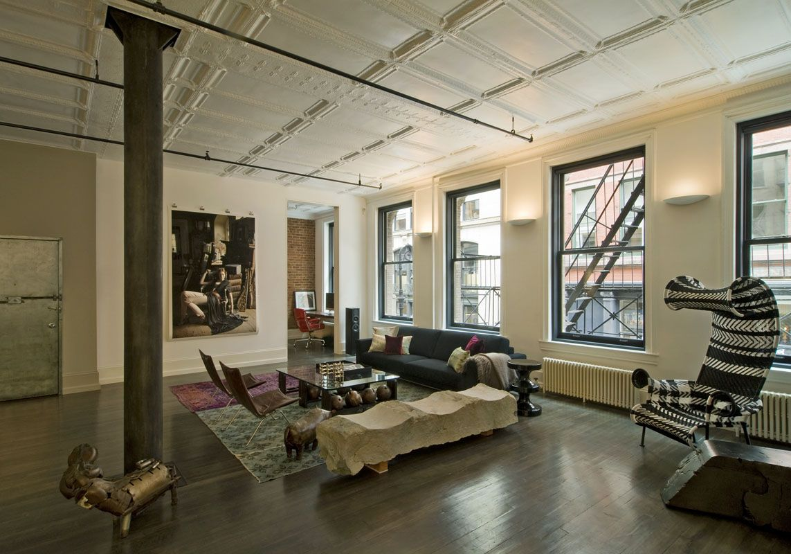 Bon Industrial Loft Design Photos | Feeling Loft Love In Soho Today This Cool  And Eclectic Loft