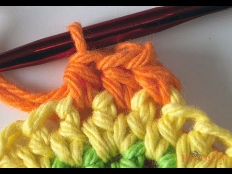 ▶ How to Crochet: Standing Half Double Crochet - YouTube