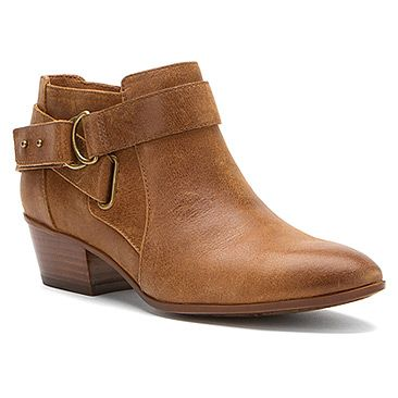 Womens Boots Clarks Spye Belle Brown Leather