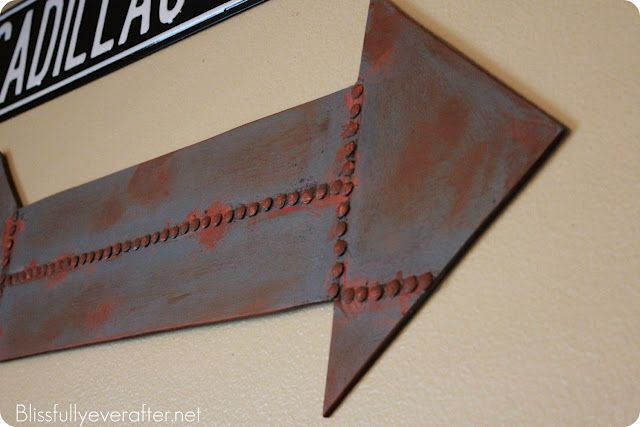 Faux Metal Sign