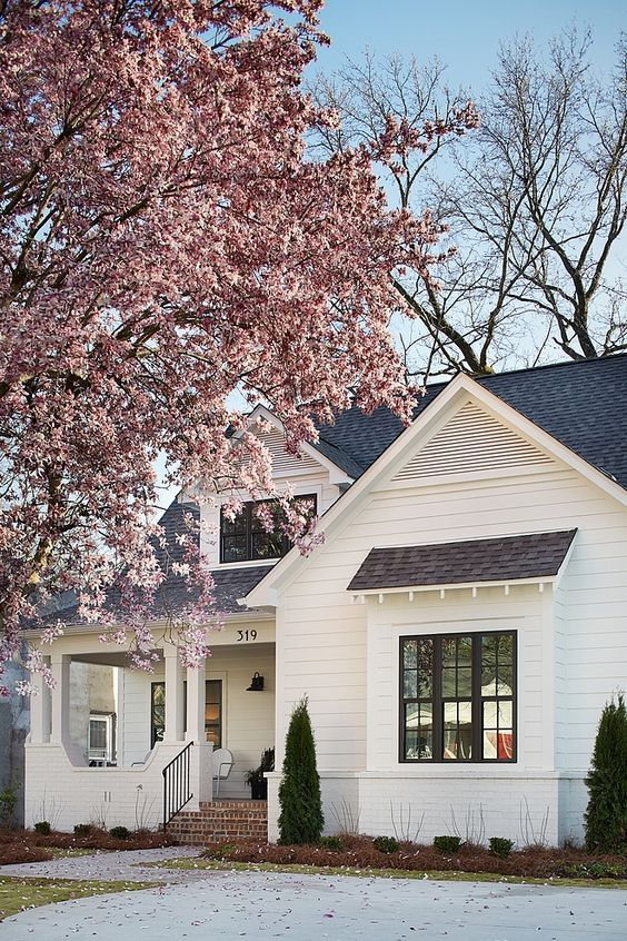 best farmhouse exterior decor  design ideas also garden rh pinterest