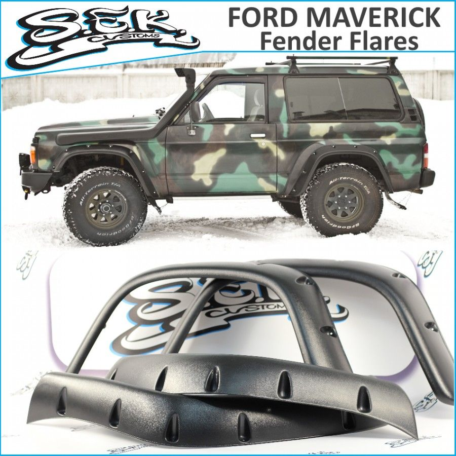 Feder Flares For Ford Maverick For Sale Made Of Abs Plastic