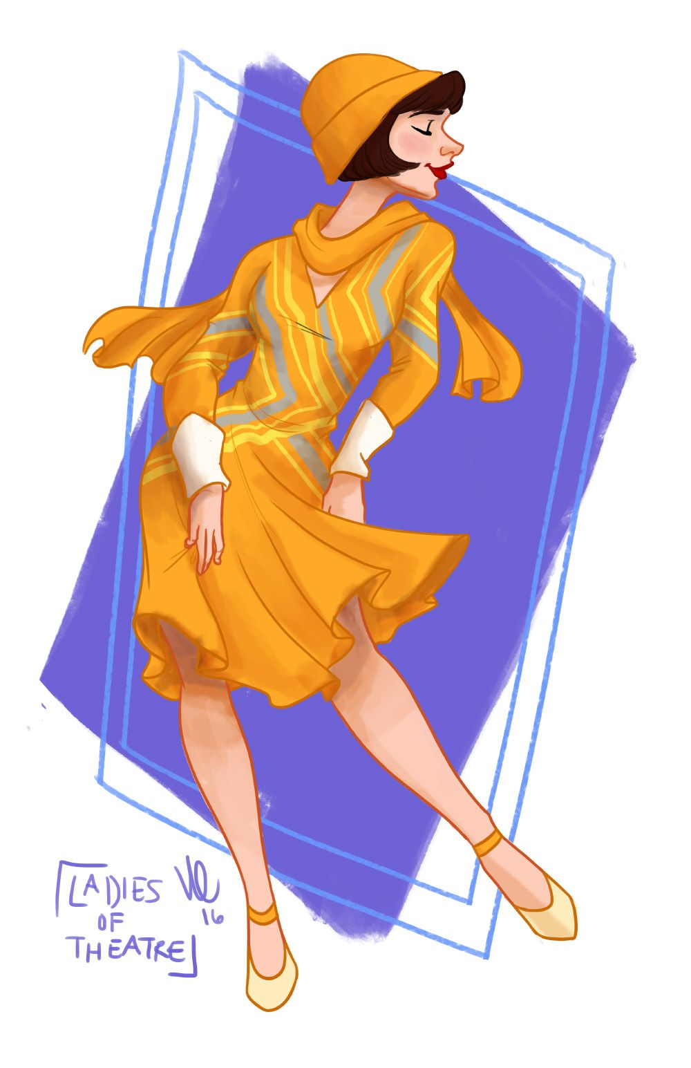 """""""Goodbye Good-Goody girl; I'm changing and how!""""Day 78: Millie Dillmount (Thoroughly Modern Millie) by Kendyll Romine"""