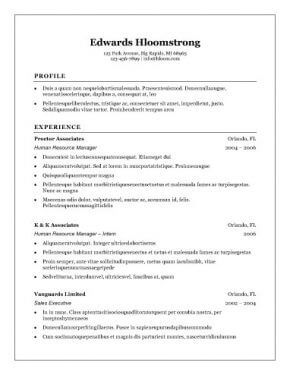 Traditional Resume Templates Traditional Elegance Resume Template  Recipes  Pinterest