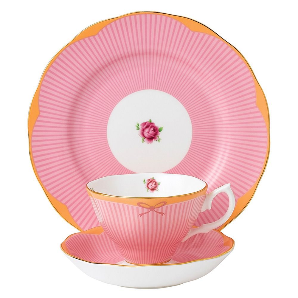 Royal Albert - Candy Collection Sweet Stripe Set 3pce | Peter\'s of ...