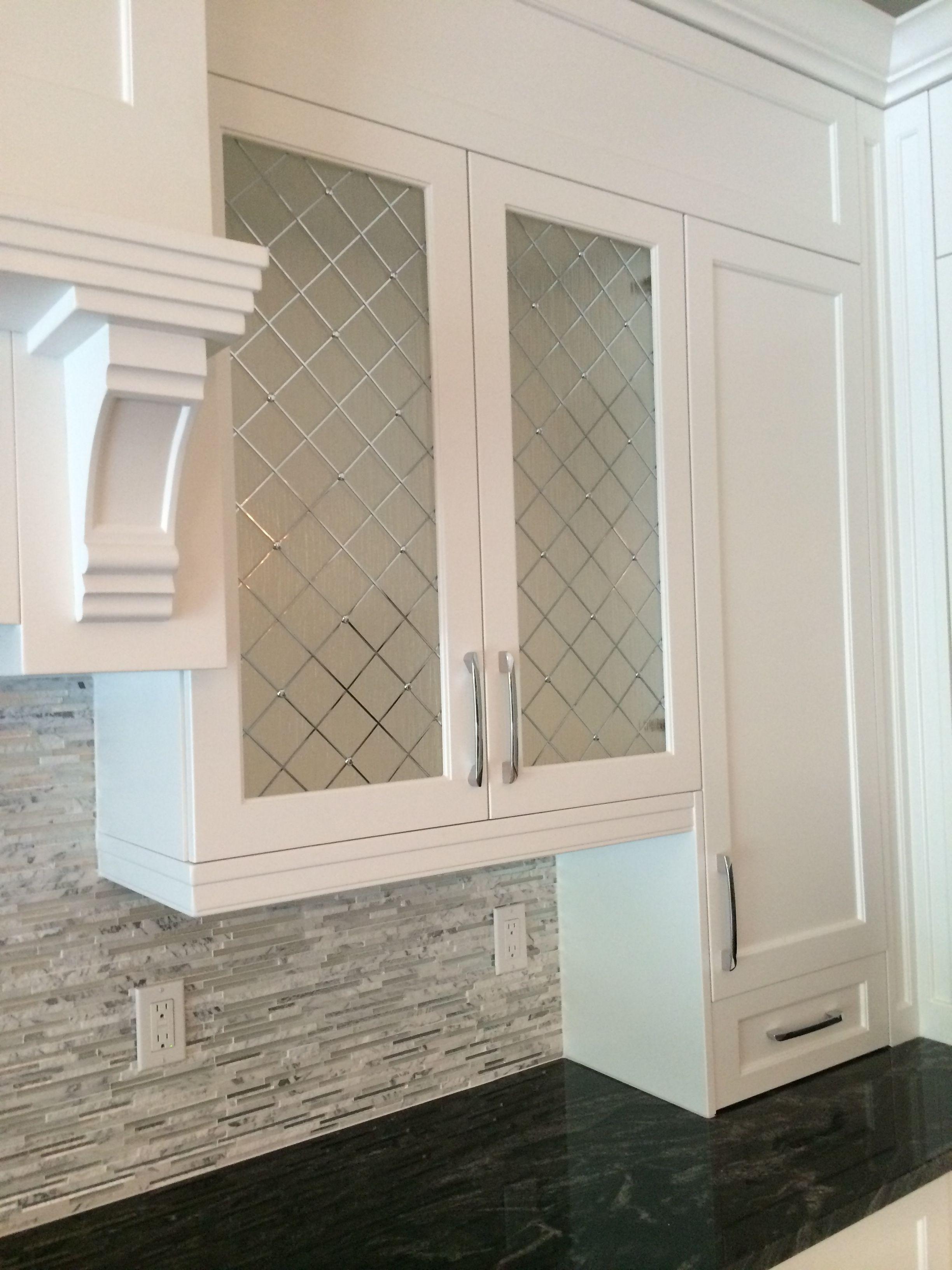 Decorative Glass For Kitchen Cabinet Doors Glass Kitchen