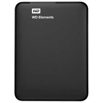 Buy online #Western Digital HDD Elements BUZG0010BBK 1TB #Extenal Storage device for AED199.00 @ luluwebstore.com