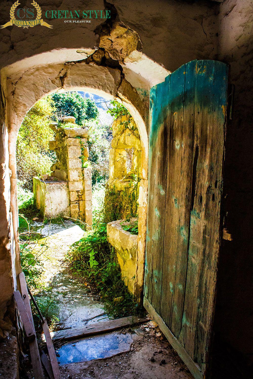 Door to the past Milli Rethymno Crete