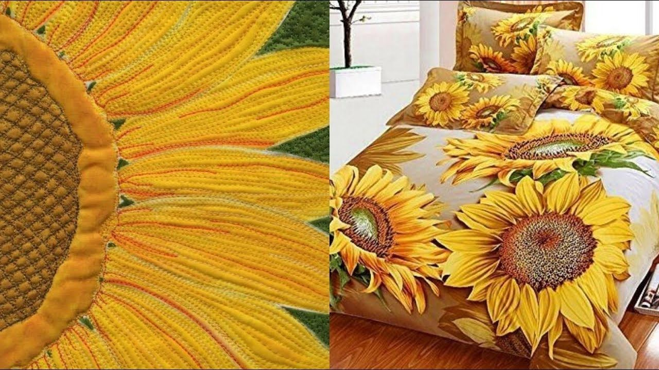 Applique Work Bed Sheet Designs Ideas Work Bed Bed Sheets Bed