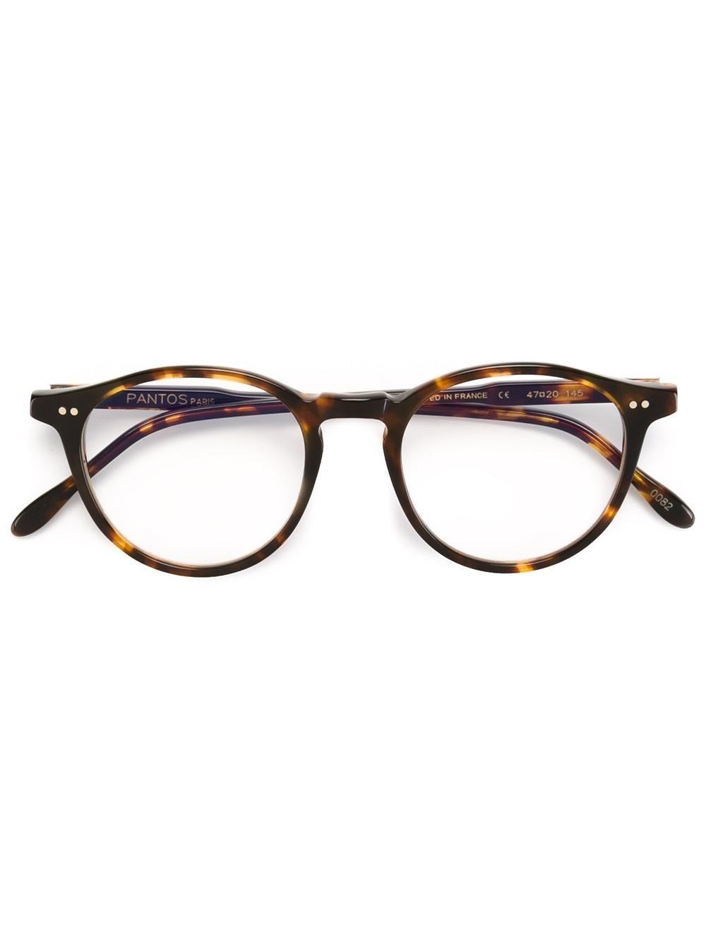 ed5759b067 Pantos Paris round frame glasses Monturas Gafas Mujer, Gafas Hombre, Marcos  Ópticos, Gafas