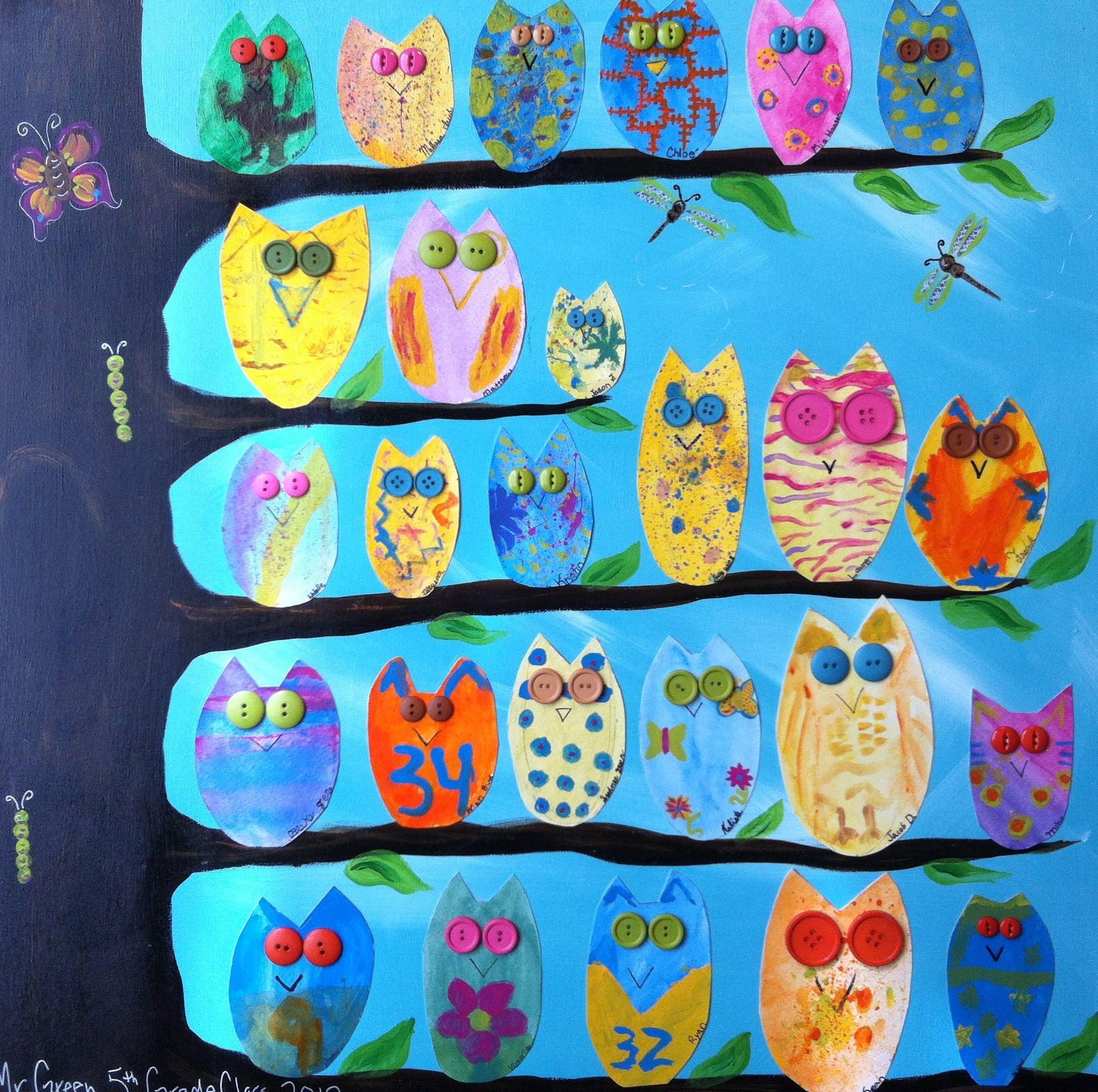 Class Owls Project Silent Auction