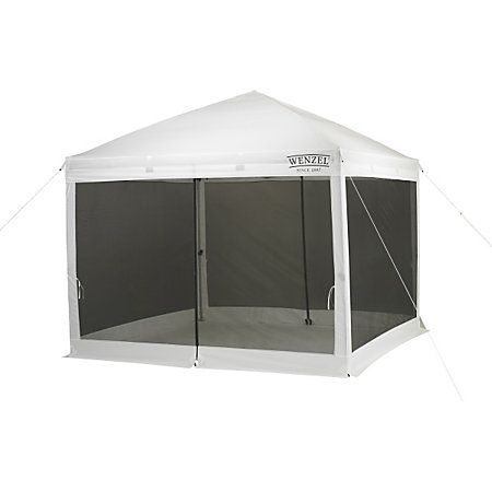 Wenzel SmartShade Instant Screen House 10 x 10-885028 - Gander Mountain $179  sc 1 st  Pinterest : instant screen canopy - memphite.com