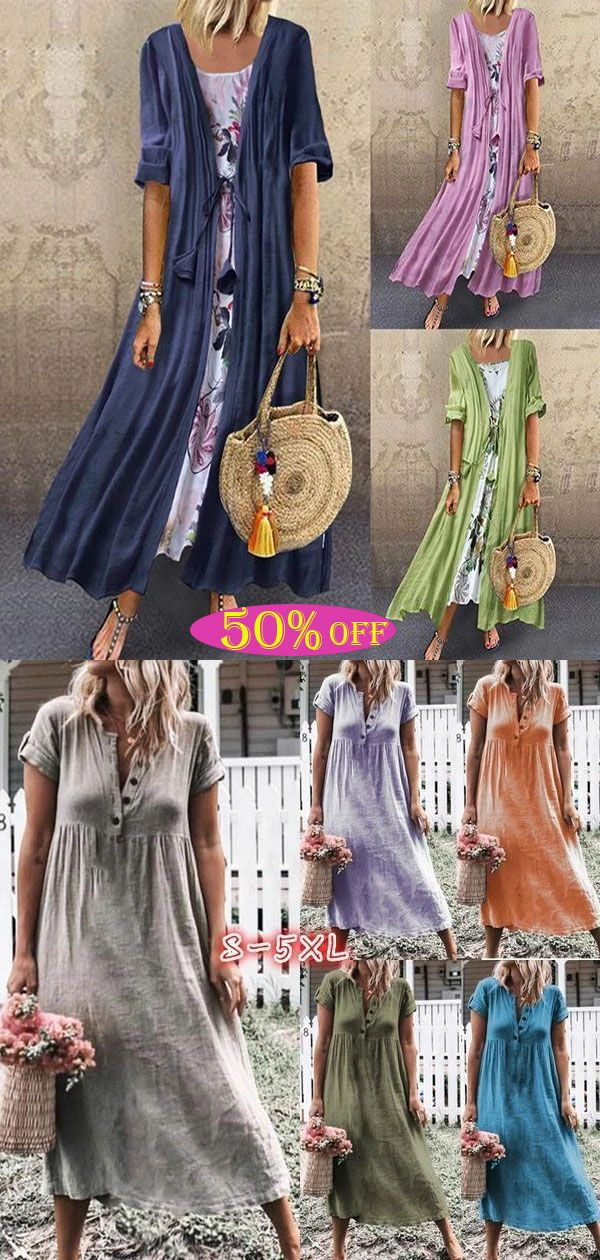 Spring And Summer Bohemian Dresses, Daily Essentials, Click On The Link To Buy!