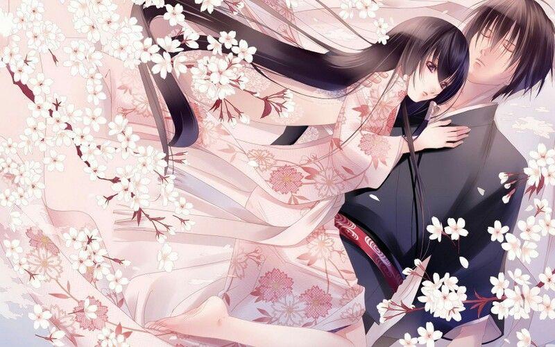 Sakura Marriage So Pretty Anime Romantic Anime Anime Love