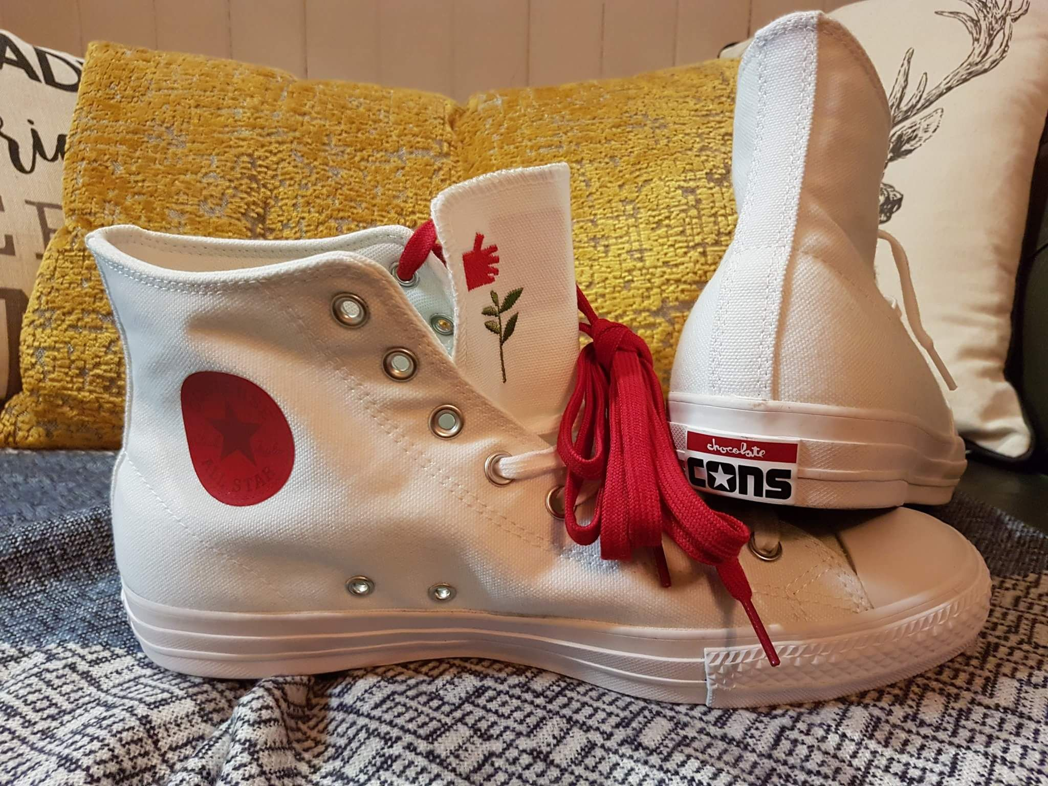 232f73de5a87 My new limited edition Converse x Chocolate Kenny Anderson CTAS Pro Hi  white cons http