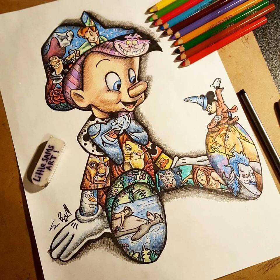 Disney Drawings: Dibujos De Disney