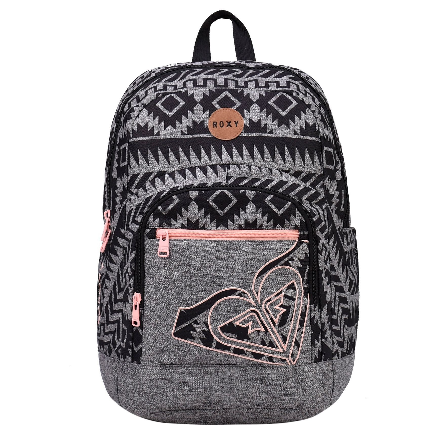 roxy grand love outer limits polyester 17 inch laptop day pack