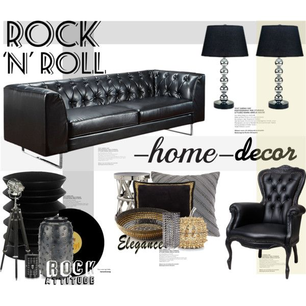 Rock N Roll Decor By Maddycruise On Polyvore