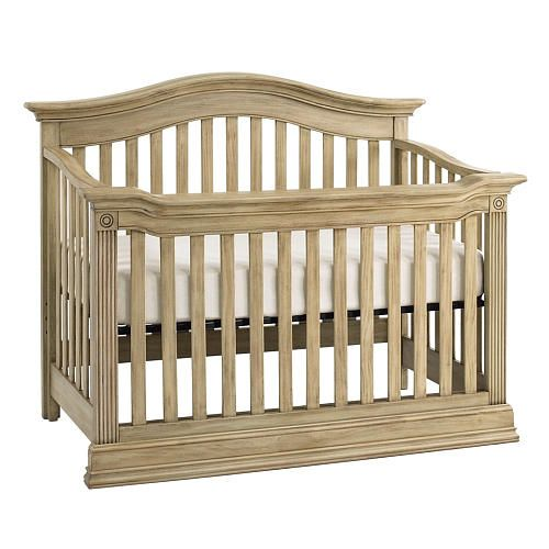 theres nothing subtle about the baby cache montana lifetime convertible cribs glamorous good looks this