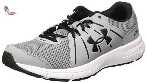UA Micro G Assert 6 Chaussures de Running Homme Gris (Steel - 45 EUUnder Armour tZxTjcV