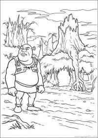 Shrek 4 Forever After Coloring Pages 47 Disney Coloring Pages