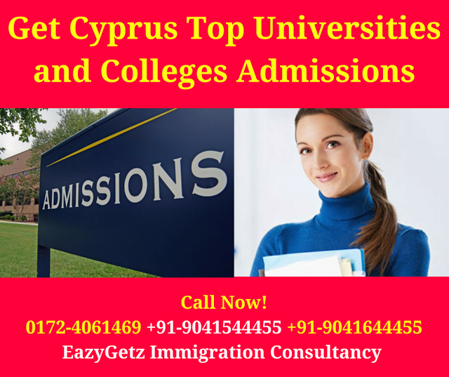 Eazygetz Immigration Consultancy Admissions Open In Cyprus Universities And College Colleges And Universities Admissions University