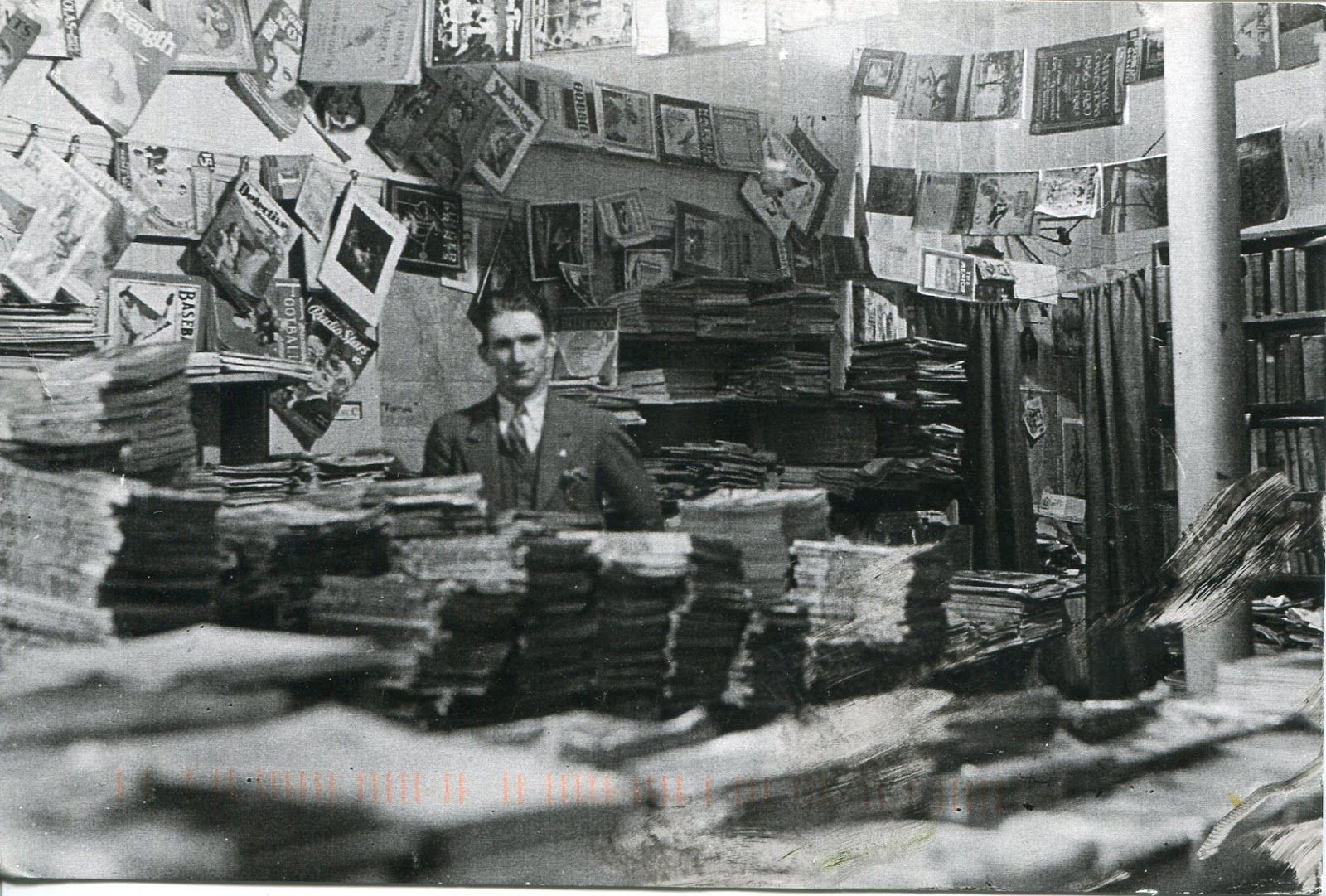 Stephen Willins, Proprietor / Oceans of Books by the Sea / Wellfleet, MA (1934)