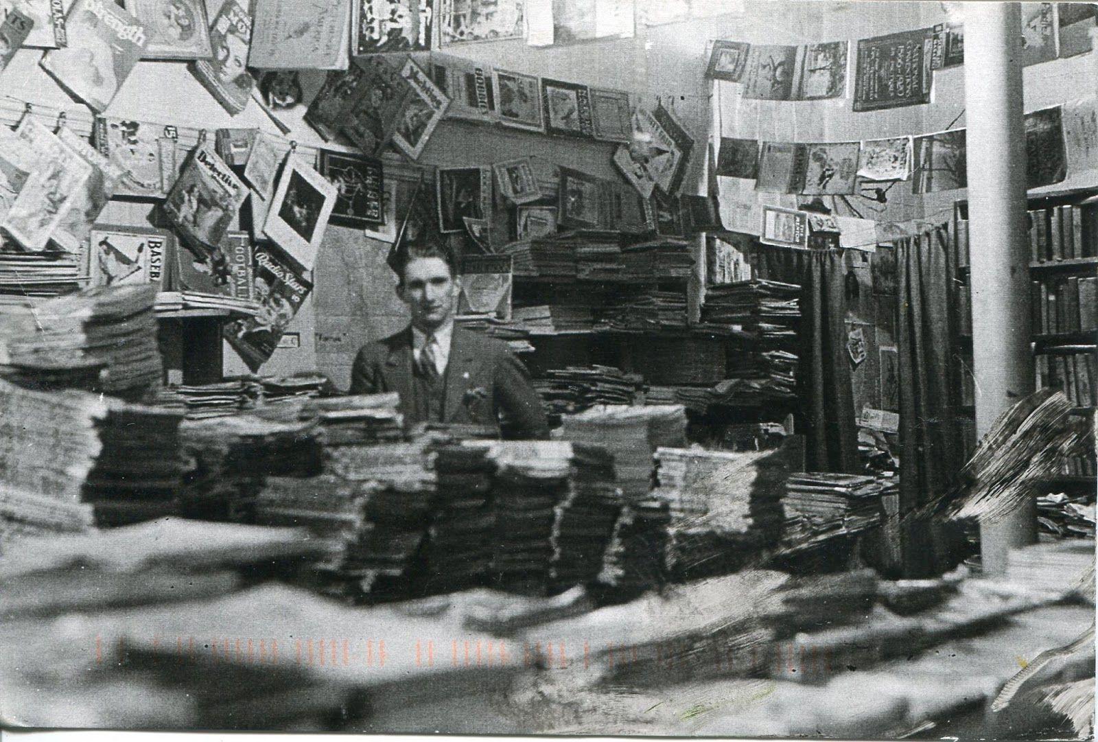 Stephen Willins, Proprietor / Oceans of Books by the Sea / Wellfleet, MA (1934)