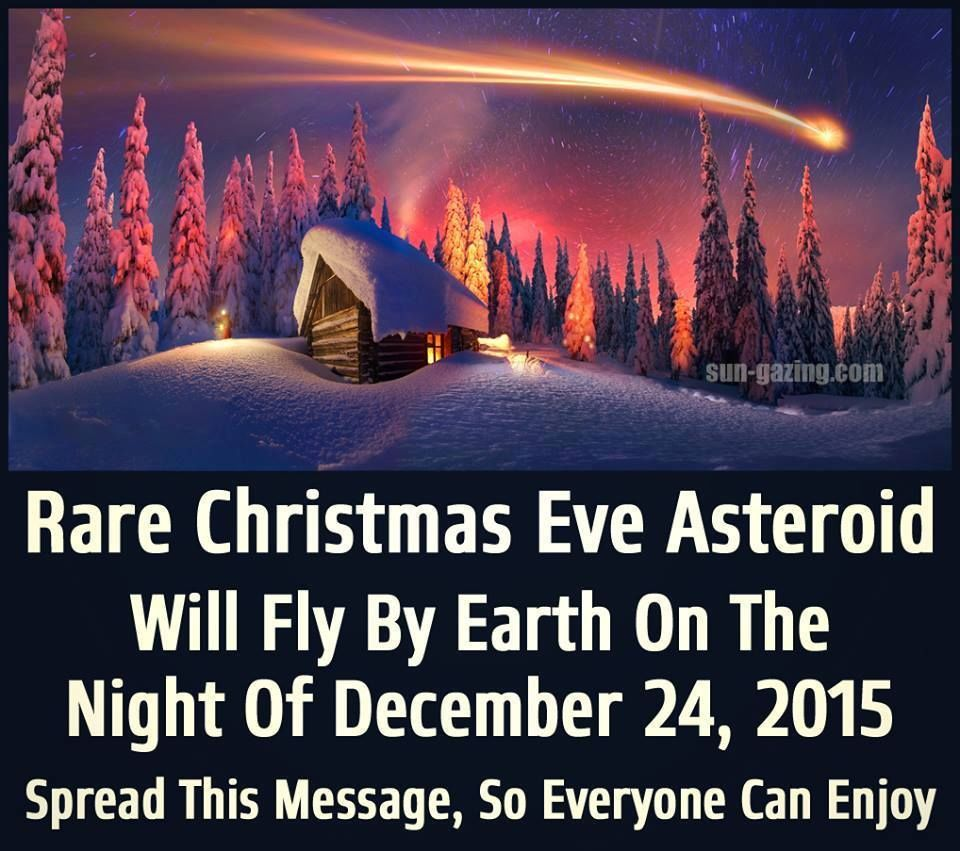 Rare christmas eve asteroid will fly by earth christmas 2015 rare christmas eve asteroid will fly by earth christmas 2015 christmas christmas quotes christmas eve seasons kristyandbryce Gallery