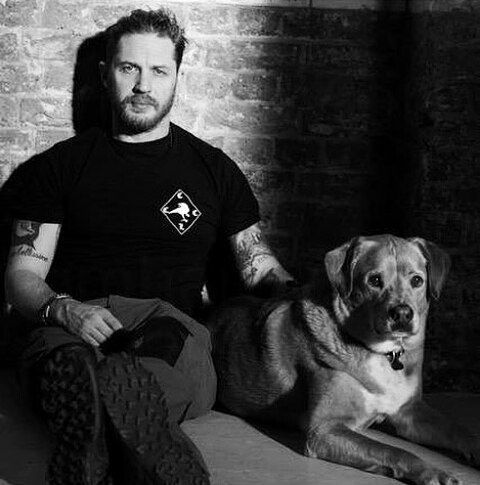#Repost from @tomtomhardy Tom Hardy & Woody #tomhardy#woody#gregwilliams#gregwilliamsphotography#tomhardyfamily#tomhardyfans#tomhardylife#tomhardyobsessed#blackandwhite#beard#taboo#taboofx#tomhardylovesdogs#edwardthomashardy#lovetomhardy#friendshipgoals#dog#hardydaily#hardyfans#hardyfamily#hardylicious#bbcone#fx#tattoo#woodstock