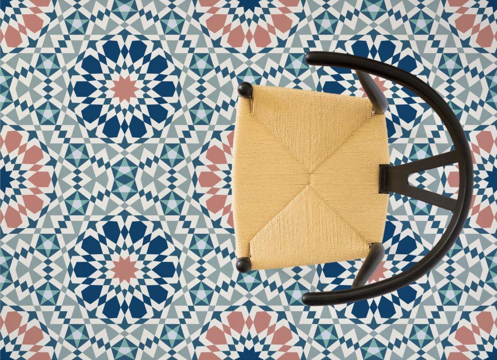 Marrakech Vinyl Flooring Moroccan Pattern Patterned Vinyl