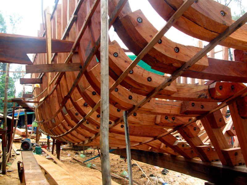 boat like frame - Google Search   Woodworking   Pinterest ...