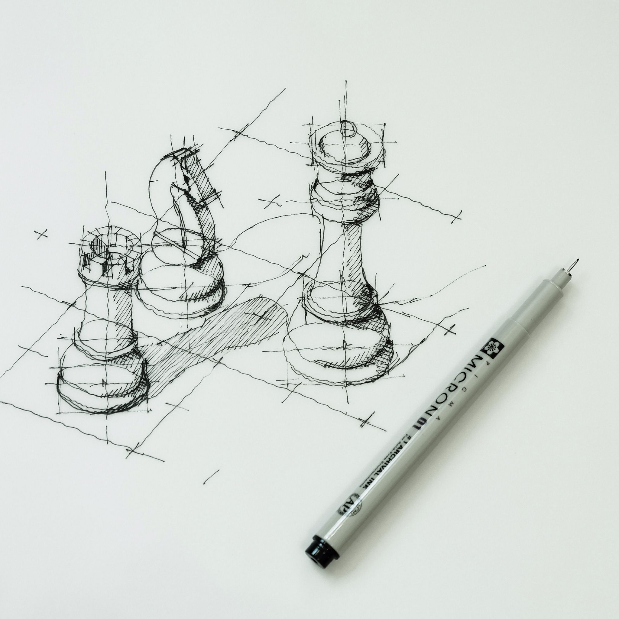 Chess pieces | Art Inspiration | Pinterest | Chess, Sketches and ...