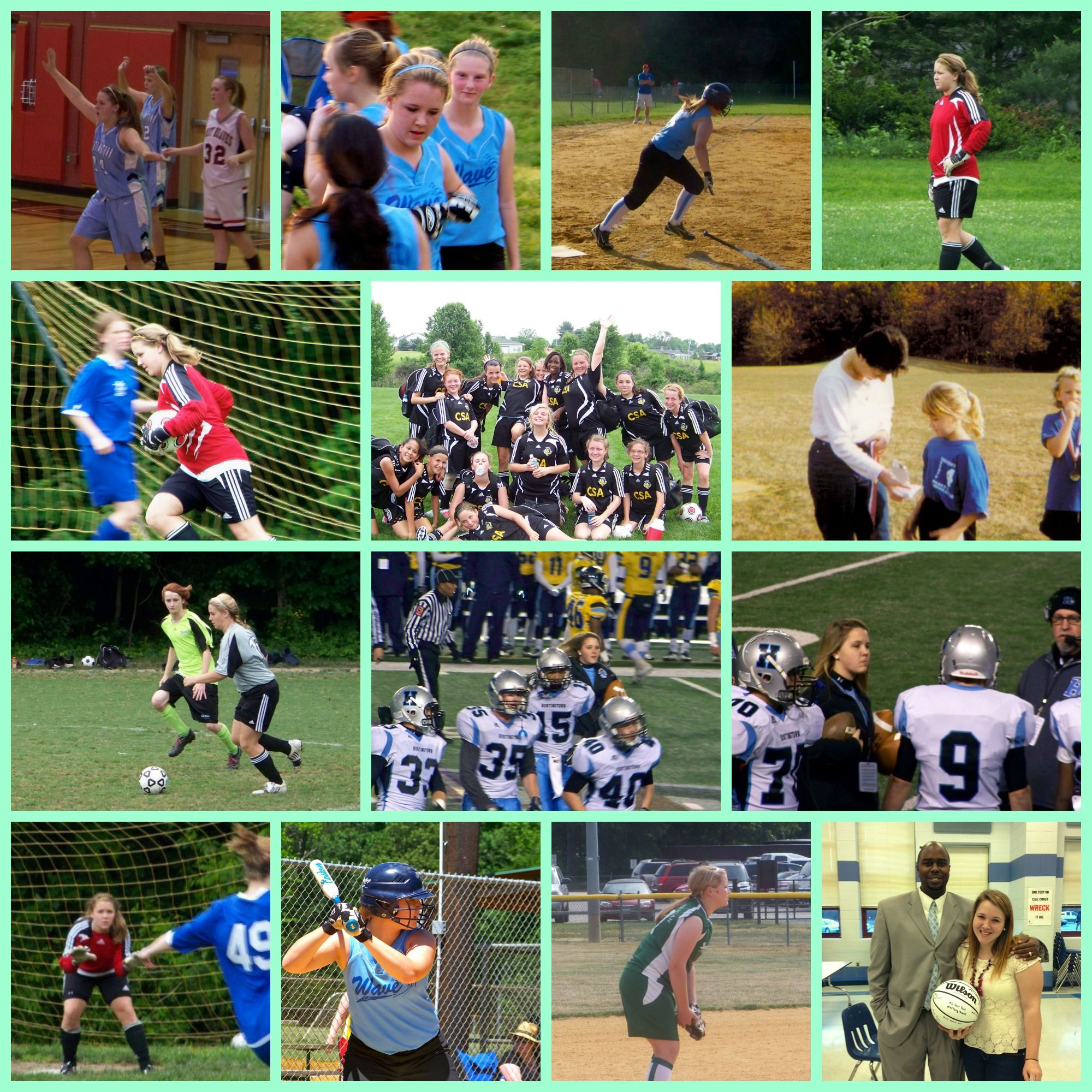 Day 98: #101gratitude I am very grateful for the great sports opportunities offered in this area. I've been to thousands of practices and hundreds of games in 4 different sports for my kid and have enjoyed all of them. Team sports have helped my girl become the young adult she is today and I'm especially grateful to all the people who give their time for these kids.