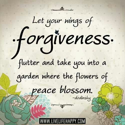 Forgiveness Leads To Peace Of Mind.