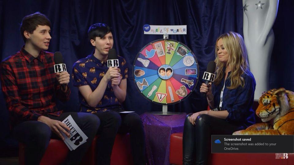 Dan and Phil Brits 2016