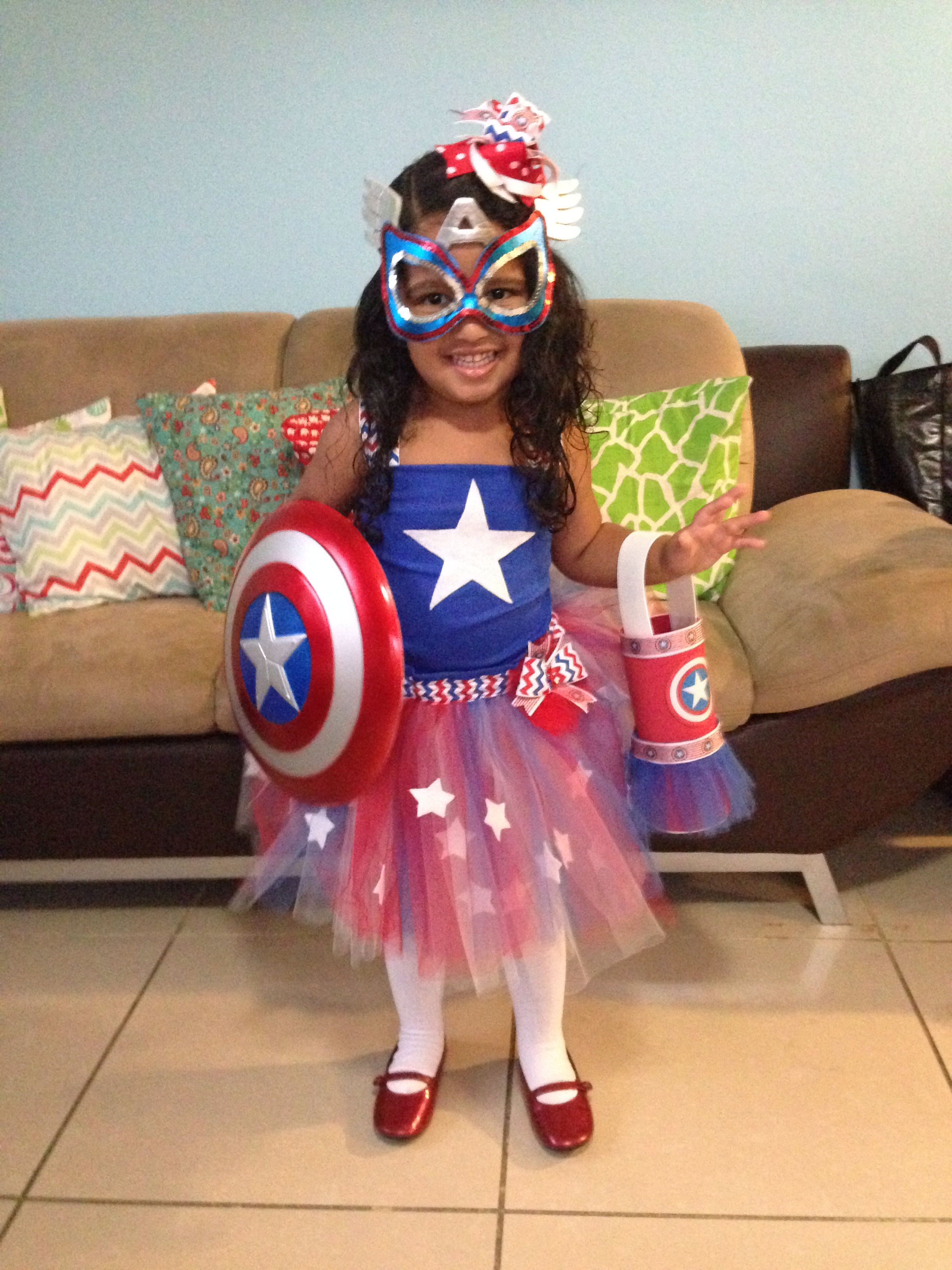 captain america tutu dress | made with love for my kids