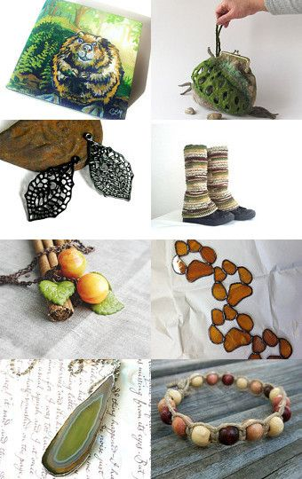 Walk in the Forest by Debbie and Darla on Etsy--Pinned with TreasuryPin.com