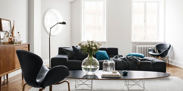 Evelina Kravaev Soderberg Stockholm Apartment Is A Study In Both Swedish Design And Living With The Things You Truly Love