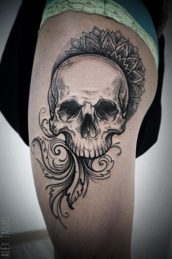 Los Mejores Tatuajes De Calaveras Con Imagenes Calaveras