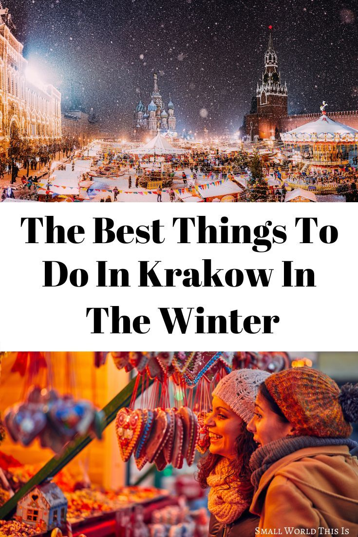 There is plenty to do in Krakow when the weather cools down, from experiencing vibrant Christmas markets to warming up with a cup of hot chocolate in one of the many cozy cafes | visiting krakow winter | krakow winter travel | krakow travel #krakow #travel