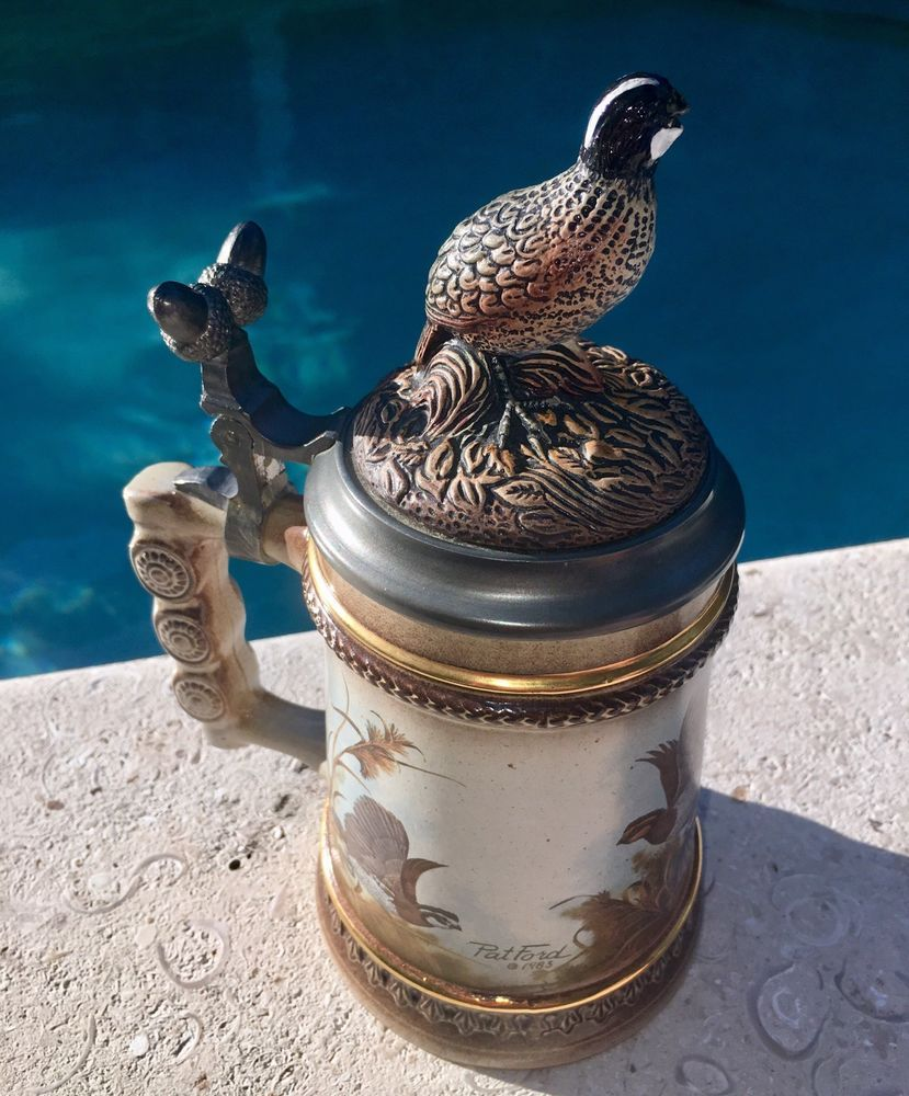 """Details about American Wildlife Stein """"Time to Scatter"""