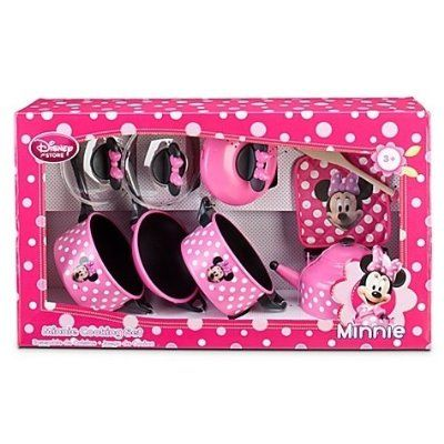 Disney Store Minnie Mouse Clubhouse Kitchen 9 Piece Cooking Accessories Pots And Pans Play Set Am Minnie Mouse Toys Minnie Mouse Kitchen Minnie Mouse Clubhouse