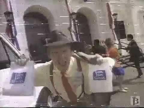 Long John Silver's Commercial 1993