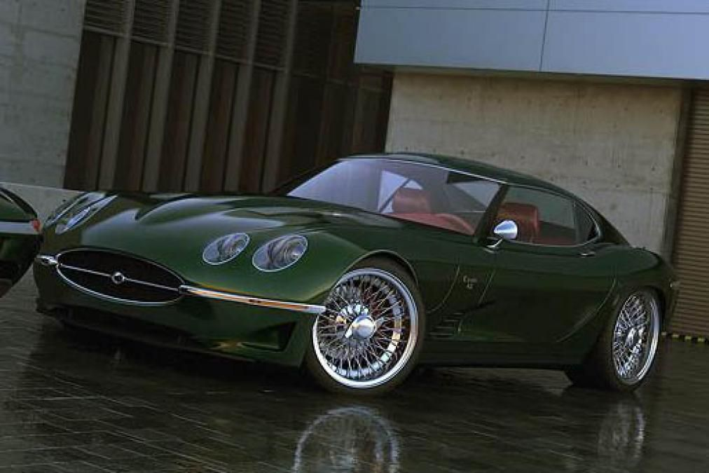 Growler Jaguar E-type recreation revealed - Pictures