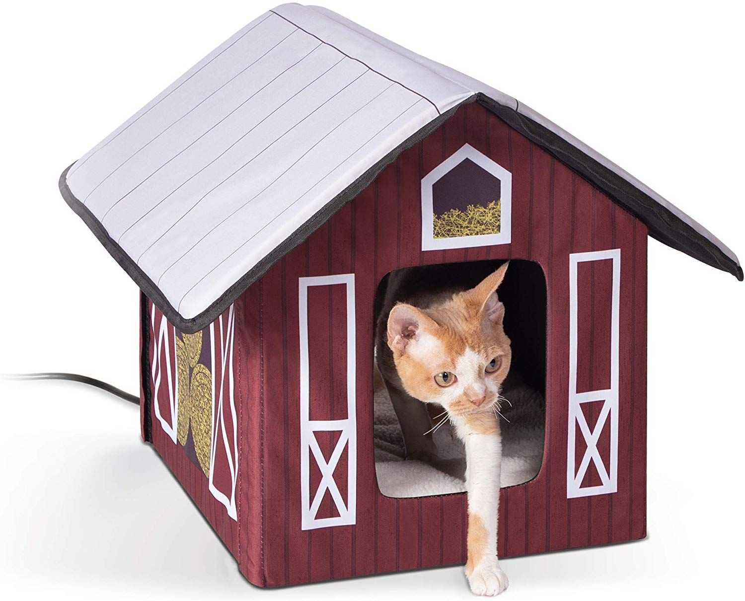 Pet Products Outdoor Kitty House, Insulated Cat in 2020