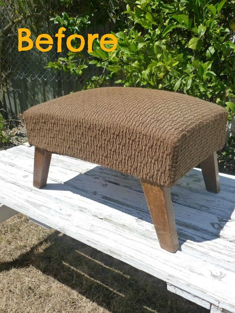 Footstool before