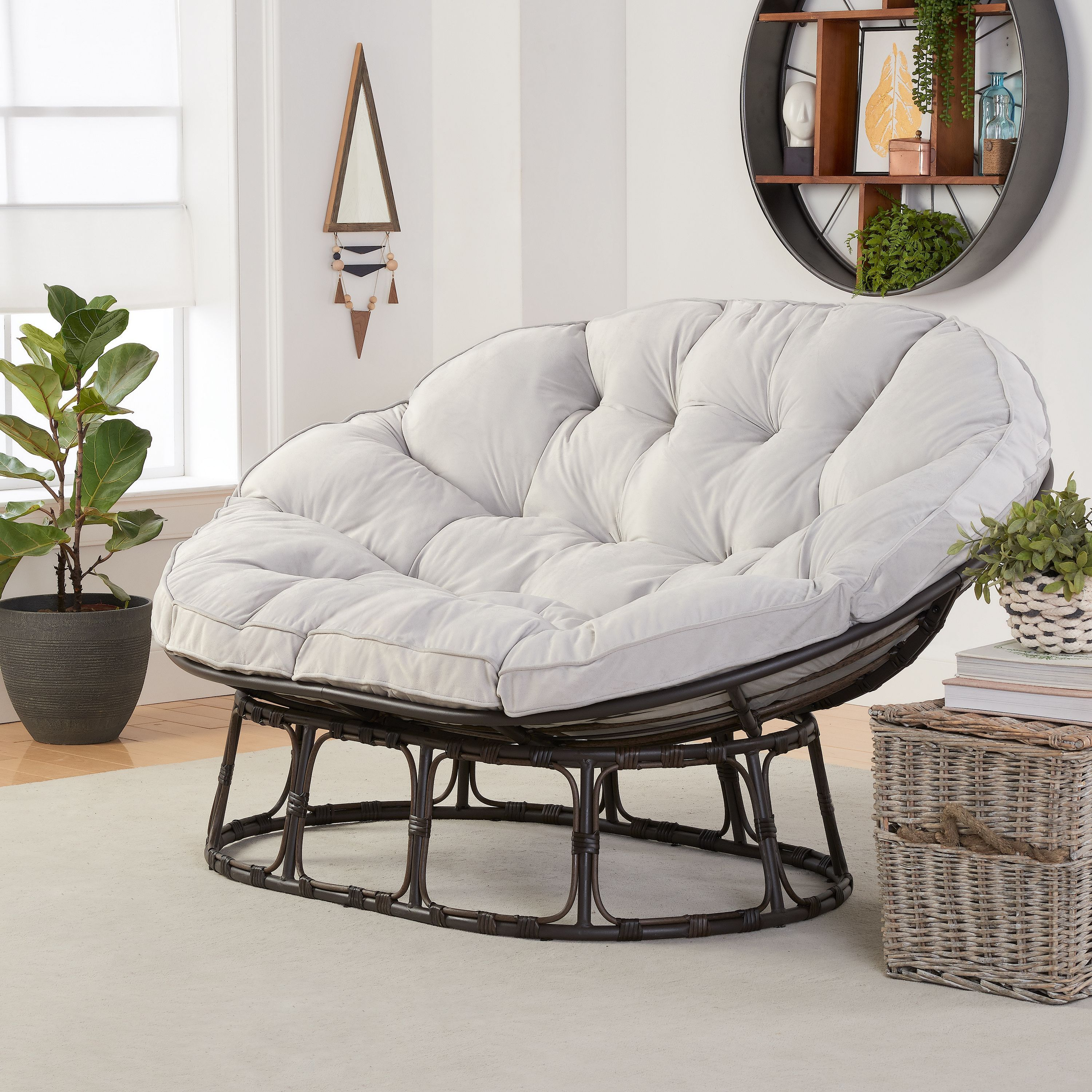 2ac682bfd883f3ca78666cd06883fc41 - Better Homes And Gardens Tufted Wicker Settee Cushion