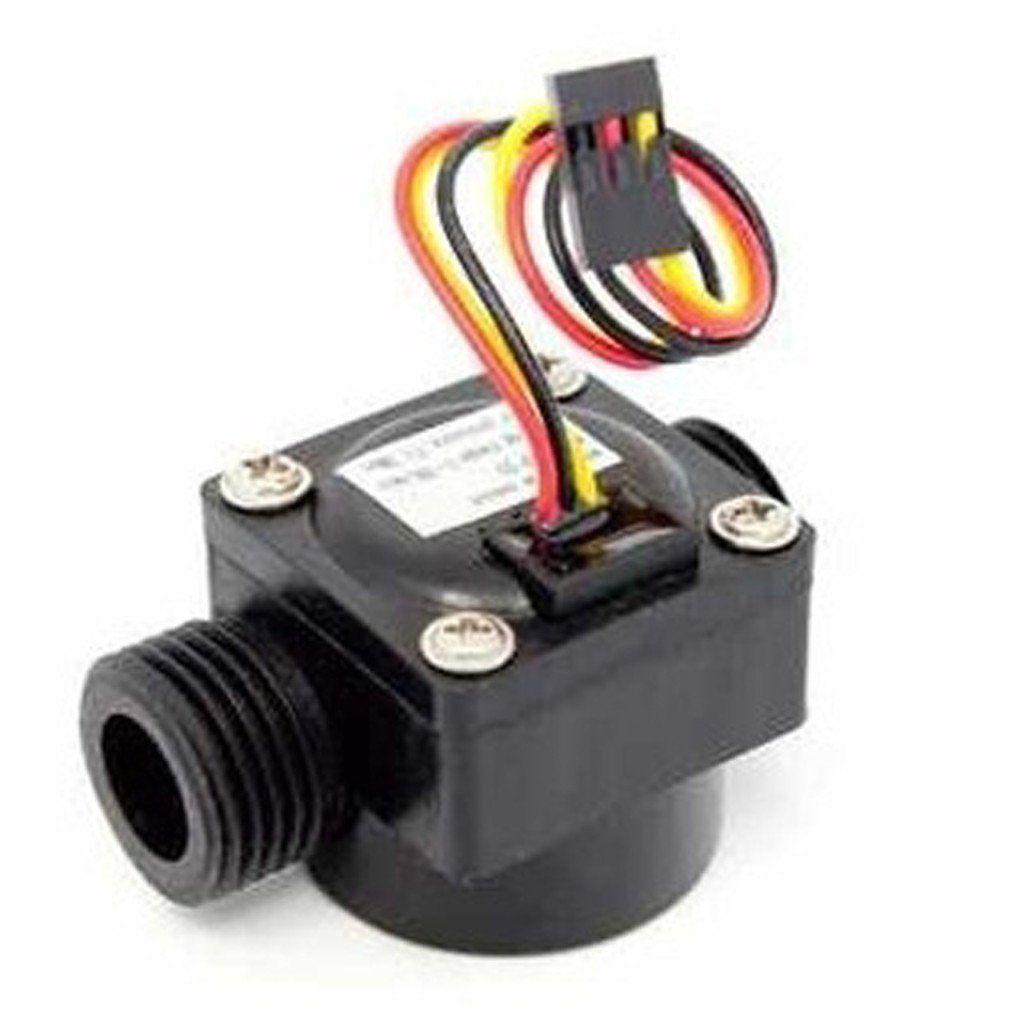 Water Flow Rate Sensor Sensor Water Flow Diy Electronics